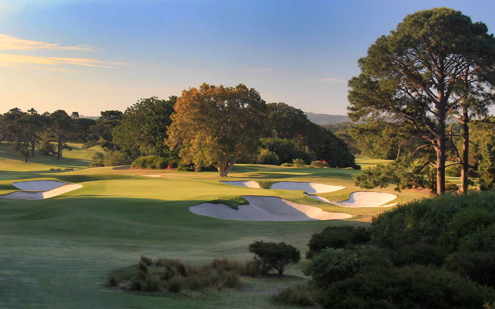 Old Fashioned Sunken Gardens Golf Course Mold - Brown Nature Garden ...