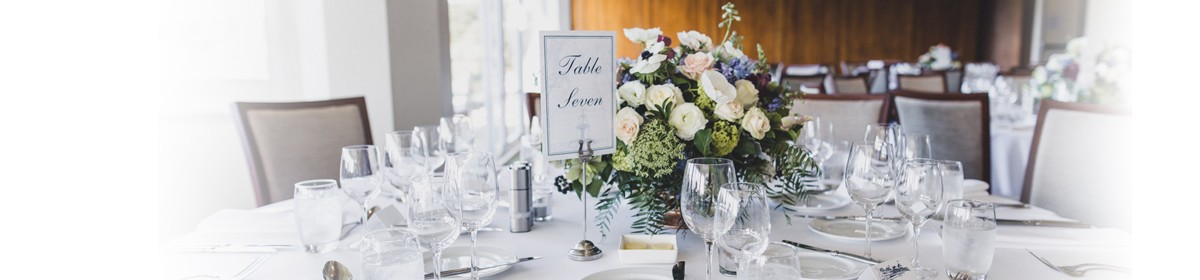 table setting banner
